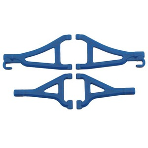 하비몬1/16 Mini E-Revo Front Upper & Lower A-arms (Blue)[상품코드]RPM