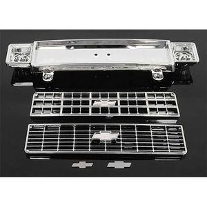 하비몬Chevrolet Blazer Chrome Front Grill w/Optional Inserts[상품코드]RC4WD
