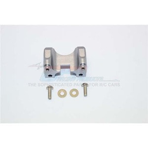 하비몬Revo Alloy Rear Damper Mount w/Counter Sink Washers & Screws - Grey Silver[상품코드]GPM