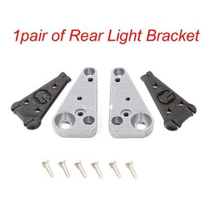 하비몬3D PLA Rear LED Light Bracket 1 pair Grey For Traxxas TRX-4 [상품코드]GRC