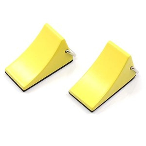 하비몬1/10 RC Rock Crawler Accessory Reifenstopper 2pcs Yellow For Tractor Truck[상품코드]YEAH RACING