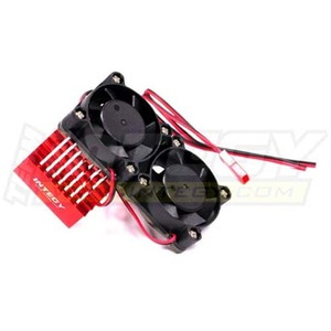 하비몬Super Motor Heatsink+Twin Cooling Fan 750 for Traxxas Summit (Red)[상품코드]INTEGY