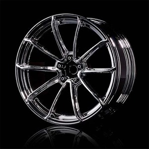 하비몬10 Spokes GTR Wheel +5 Offset 4 pcs Silver For 1/10 Drift RC[상품코드]MST