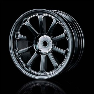 하비몬77SV Wheel Offset +5 Silver Black 4pcs For 1/10 Drift[상품코드]MST