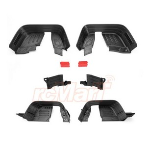 하비몬3D Print PLA Inner Fender Set Black For Axial SCX10 II[상품코드]GRC