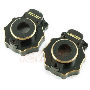 하비몬Brass Portal Knuckle Cover 2 pcs Black For Traxxas TRX-4[상품코드]SAMIX
