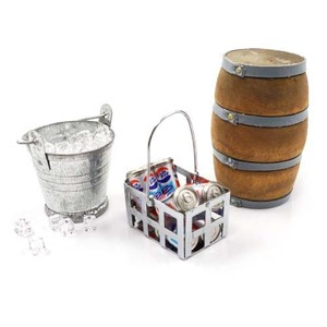 하비몬1/10 RC Crawler Camping Accessory Combo Ice Bucket & Ice,Coke Bucket With Coke,Wine Cask[상품코드]YEAH RACING