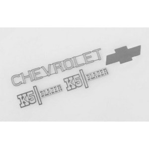 하비몬Chevrolet Blazer Metal Emblem Set[상품코드]RC4WD
