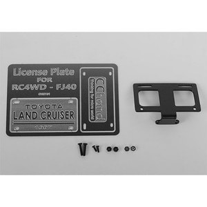 하비몬Front License Plate System for RC4WD G2 Cruiser[상품코드]CCHAND