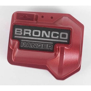 하비몬Alu. Diff Cover for Traxxas TRX-4 '79 Bronco Ranger XLT (Red)[상품코드]CCHAND