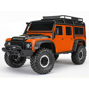 하비몬1/10 TRX-4 Scale & Trail Defender Crawler 4WD RTR (Orange)[상품코드]TRAXXAS