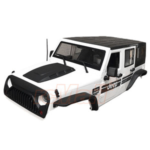 하비몬Jeep Hard Plastic Body Kit 313mm (Parts A) Ver.2 For Axial SCX10 II RC4WD TF2 White[상품코드]XTRA SPEED