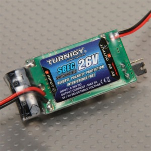 하비몬[#SBEC-26V (10312)] Turnigy 5A (8-26v) SBEC for Lipo[상품코드]TURNIGY