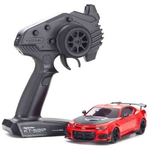 하비몬[#KY32339R-B] 1/27 MR03RWD r/s CHEVROLET CAMARO ZL1 Red Hot w/LED[상품코드]KYOSHO