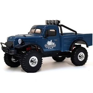 하비몬[#CR-18_HARVEST_B] 1/18 CR-18 Harvest 4WD Rock Vehicle Truck ARTR (Blue)[상품코드]TOYMIX
