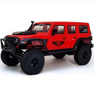 하비몬[#CR-18_KRATOS_R] 1/18 CR-18 Kratos 4WD Rock Vehicle Truck ARTR (Red)[상품코드]TOYMIX