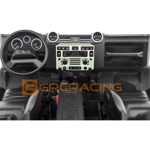 하비몬[#GRC/G161DG] Cockpit Interior Kit for TRX-4 Defender (Green)[상품코드]GRC
